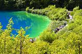 The plitvicka lake
