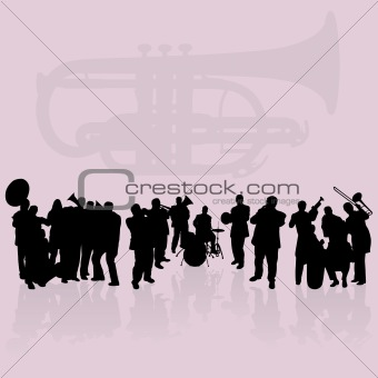 Brass players set