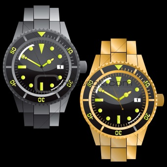 Chronograph Watches Set