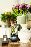 Flower arrangement in beautiful interior setting