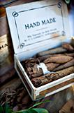 Box of hand made cigars