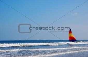 Wave Sailboat