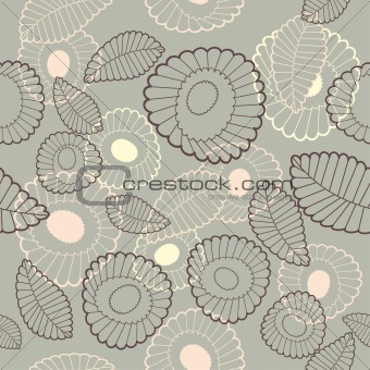 abstract cute seamless background