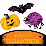 greeting cute halloween card