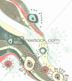 abstract cute vector background