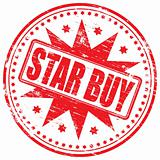 Star buy rubber stamp