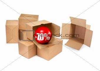 70% sale concept