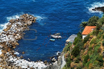 Riomaggiore - view from above