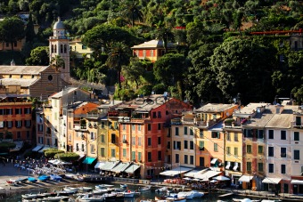 Portofino village on the Ligurian Coast
