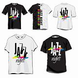 Jazz t-shirts set
