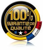 Garantie de qualité 100%
