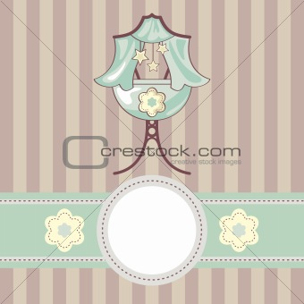 baby vector background