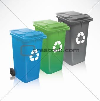 Modern Recycle Bins