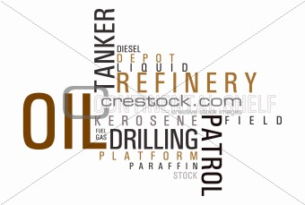 Oil wordCLOUD
