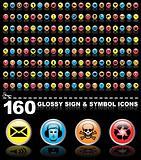 160 symbol icons