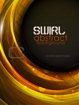 Abstract swirl motion background