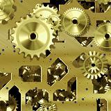 mechanical gears symbol of progress