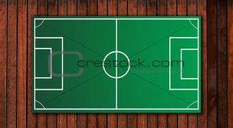 football tactical board