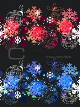 Beautiful seamless Christmas pattern.