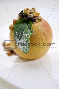 Foie gras with apple