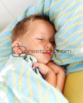 Little boy sleeping