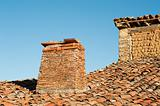 Medieval rooftop