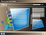 Web site 3d design template 20
