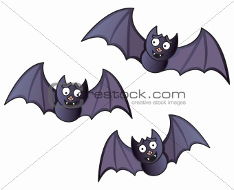 Cartoon Bats