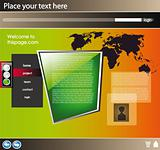 Web site design template 21