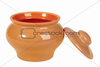 One opening ceramic pot