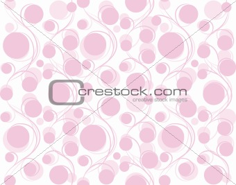 Circle  vector seamless background