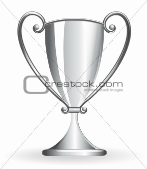 Champion cup - goblet silver