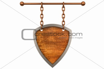 3d wooden sign