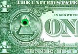Dollar and an eye