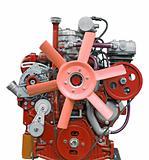 pink diesel engine
