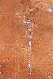 Corrosion of iron sheet