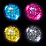 Disco Ball Set vector  / eps10