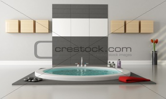 Minimalist luxury bathroom