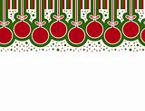 christmas ball border