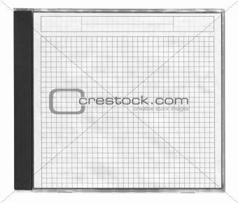 cd cover with squared paper
