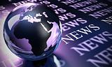 worldwide news background