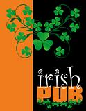Irish pub menu 02