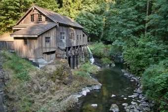 Historic Grist Mill along Cedar Creek
