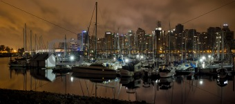 Marina at Stanley Park Vancouver BC Canada