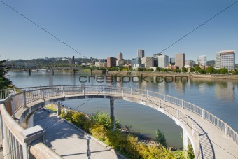 Circular Walkway on Portland Eastbank Esplanade