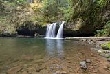 Upper Butte Falls in Oregon