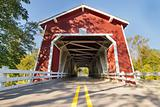 Shimanek Covered Bridge in Oregon