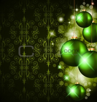 Christmas Elegant Suggestive Background for Greetings