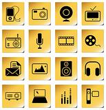 Mass Media icons