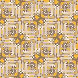 Seamless Dogon Pattern